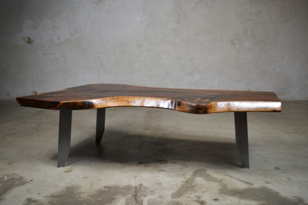 Figured Walnut Coffee Table 001