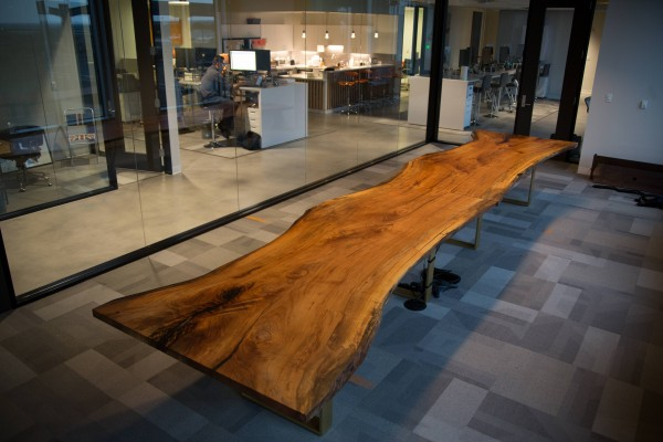 Ampersand 20′ Pecan Conference Table